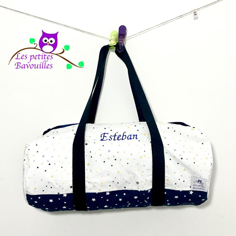 sac polochon personnalisé Esteban