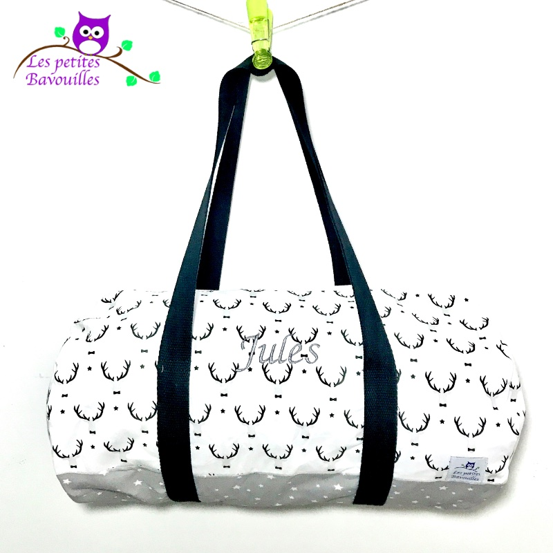 sac polochon couture cerf jules